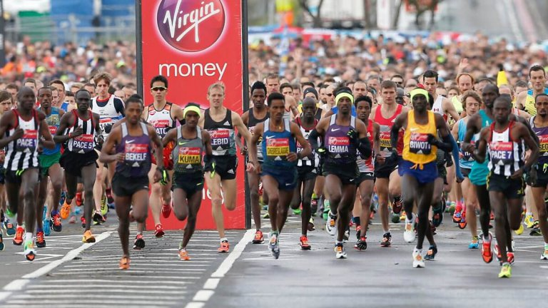 bet on London marathon